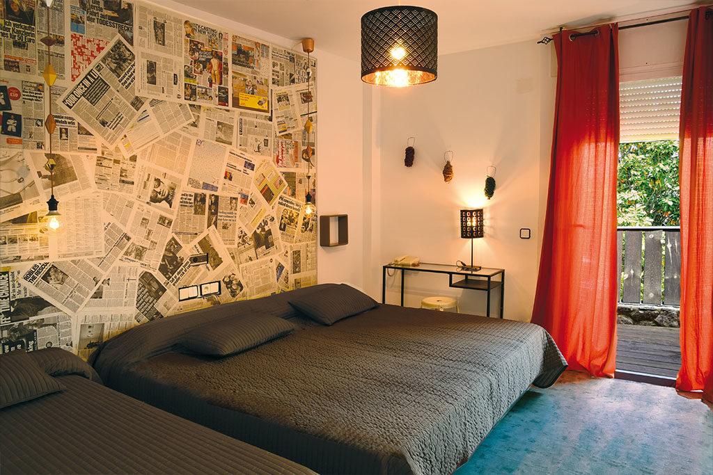 Habitaciones hotel rio Piedra