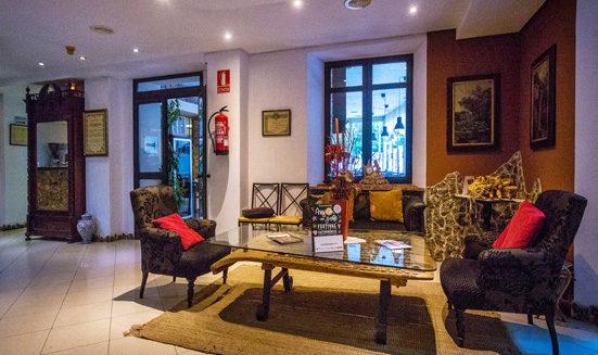 Hall hotel Rio Piedra