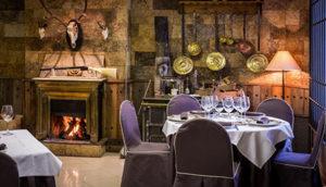 Salón clásico del restaurante